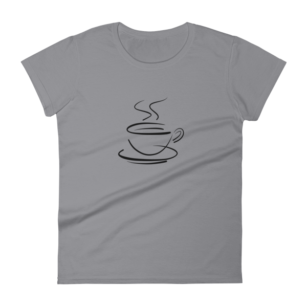 Women's Anvil 880 T-Shirt – Coffee Cup