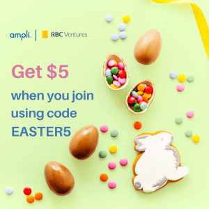 Get$5 when using code easter
