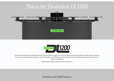 Drobotron Web Site Design