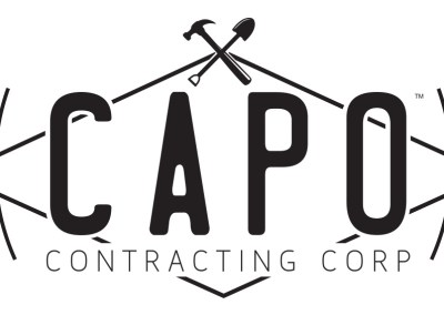 CAPO Contracting Corp Logo Design