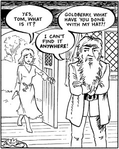 Panel from 'Tom And Goldy' by Ian C. Thomas