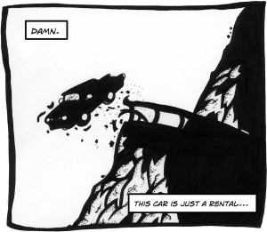Panel from 'Damn.' by Nick Skeer