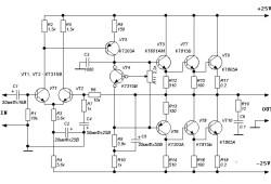 A Simple 20 Watts Amplifier
