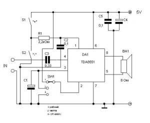 Mono Power Amplifier TDA8551.