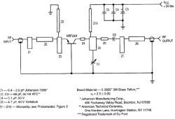 RF Amplifier Circuit : 1 Watt 2.3GHz based MRF2001
