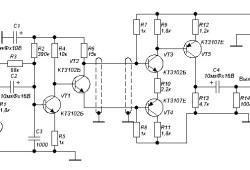 Microphone Amplifier with Noise Suppression