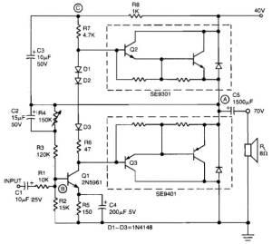 20w power amp