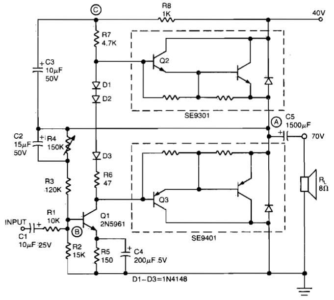 amplifier circuit design page 26 of 30 amplifier project scheme rh amplifiercircuit net