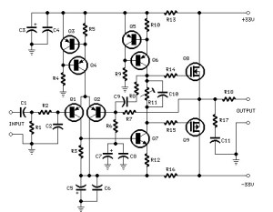 25 watts power amplifier based MosFet