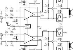 High Precision Audio Frequency Amplifier based LM4702