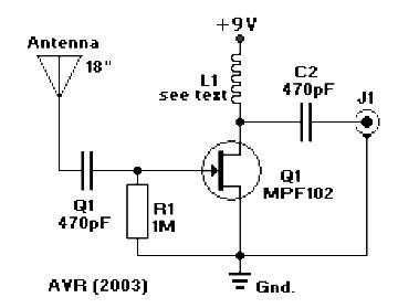 Active Antenna For Am Fm Sw Amplifier Circuit Design