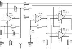 Guitar Pre-amp Circuit based TL072