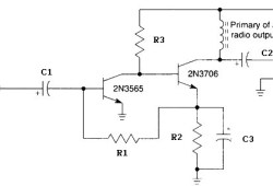 Headphone Audio Amplifier based Two Transistors