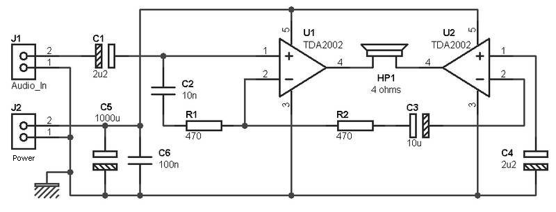 low voltage bridge audio amplifier amplifier circuit design15w headphone bridge amplifier