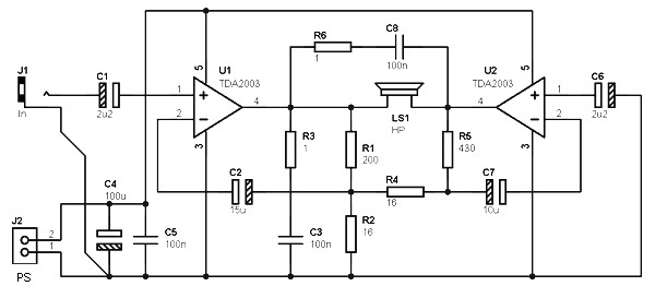 40 w bridge amplifier
