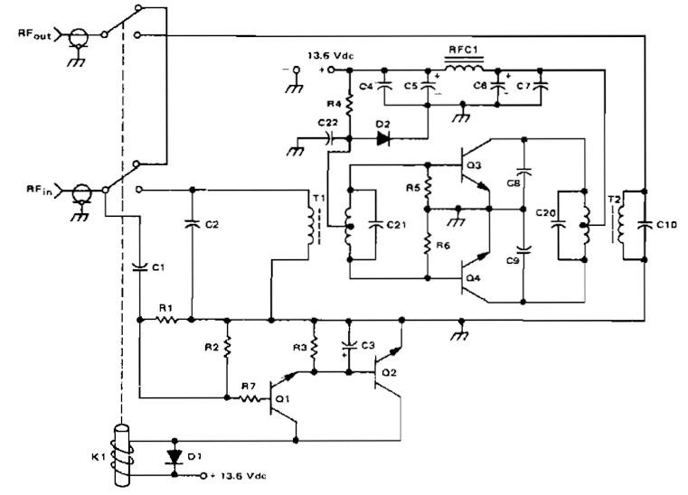 Amateur Radio Linier Amplifier