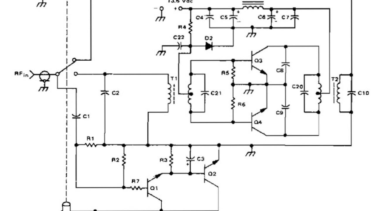 140W ( PEP ) Amateur Radio Linier Amplifier (2 -30 Mhz