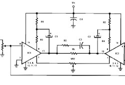 Low Voltage Bridge Audio Amplifier