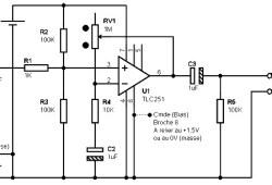Microphone Preamplifier based TLC251