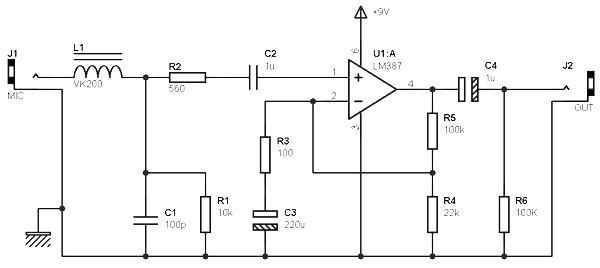 mono stereo preamp based on lm387 amplifier circuit design rh amplifiercircuit net