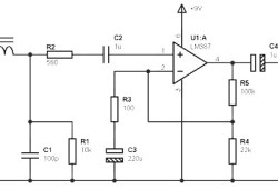 Mono/Stereo Preamp based on LM387