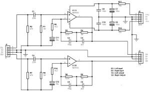 RIAA Stereo Preamplifier Classic Version based on NE5532 - Amplifier