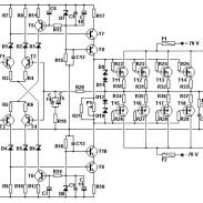 100W Basic MOSFET amplifier - Amplifier Circuit Design