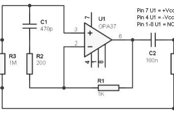 Hydrophone preamplifier circuit Archives - Amplifier Circuit