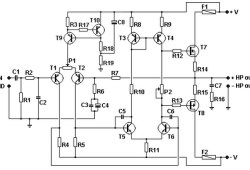 100W Basic MOSFET amplifier
