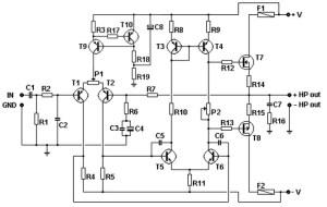 Basic mosfet amplifier