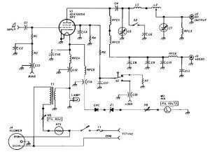1500 W RF Amplifier circuit