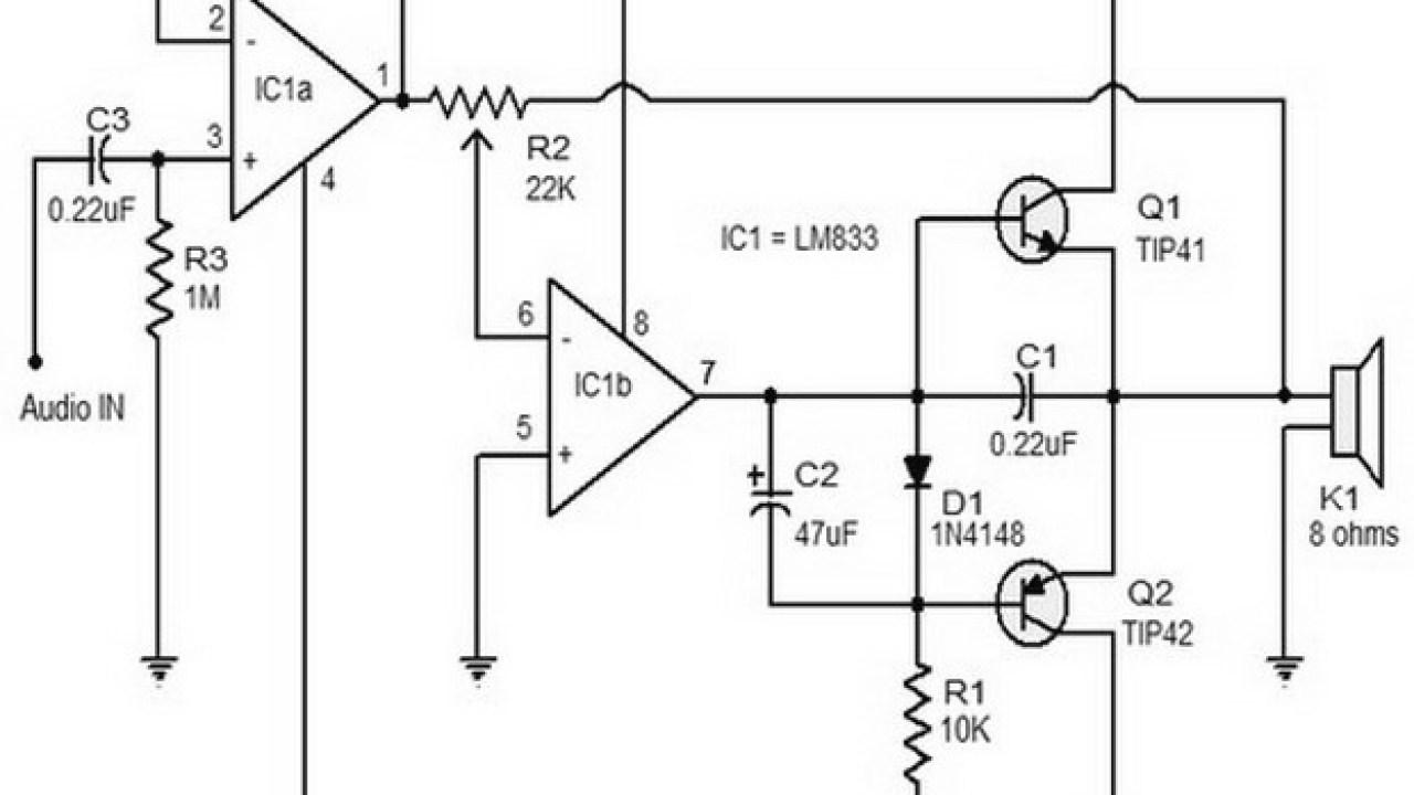 15 w class B audio amplifier - Amplifier Circuit Design