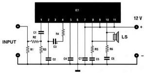20w car audio amplifier based TDA 2004  Amplifier Circuit Design