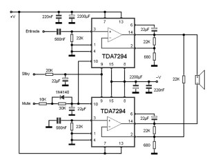 100w bridge amplifier