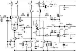 100W Audio Amplifier based F.E.T