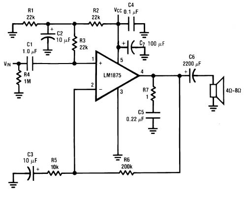 30w power amplifier