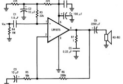 Audio Power amplifier (30W)