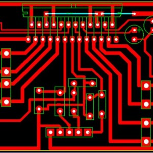 150W Car Audio Amplifier PCB Design