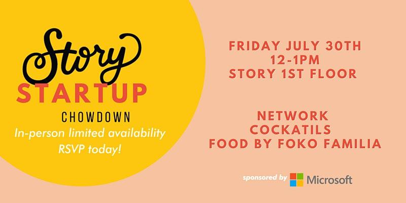 Story Startup Chowdown