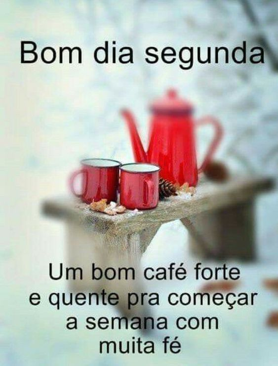 Bom dia com café quente