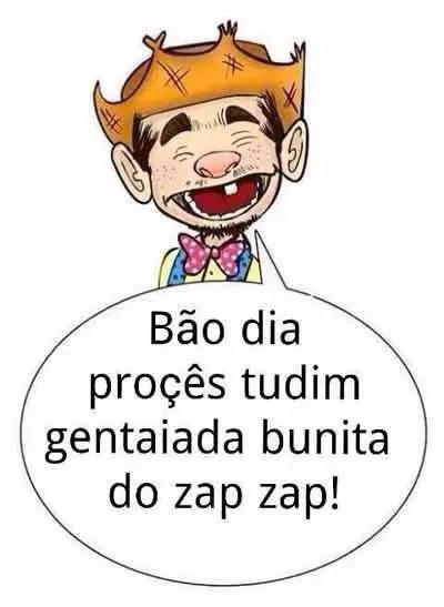 Bom dia para Zap
