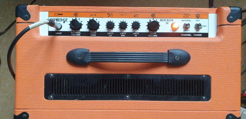 Orange Rocker 30w combo. Fully serviced £450