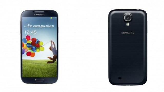 Galaxy S IV negro