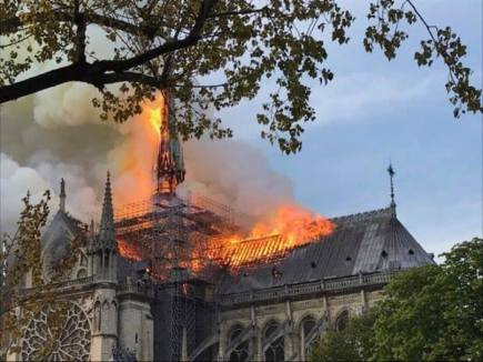 Incendio Catedral de Notre Dame 7
