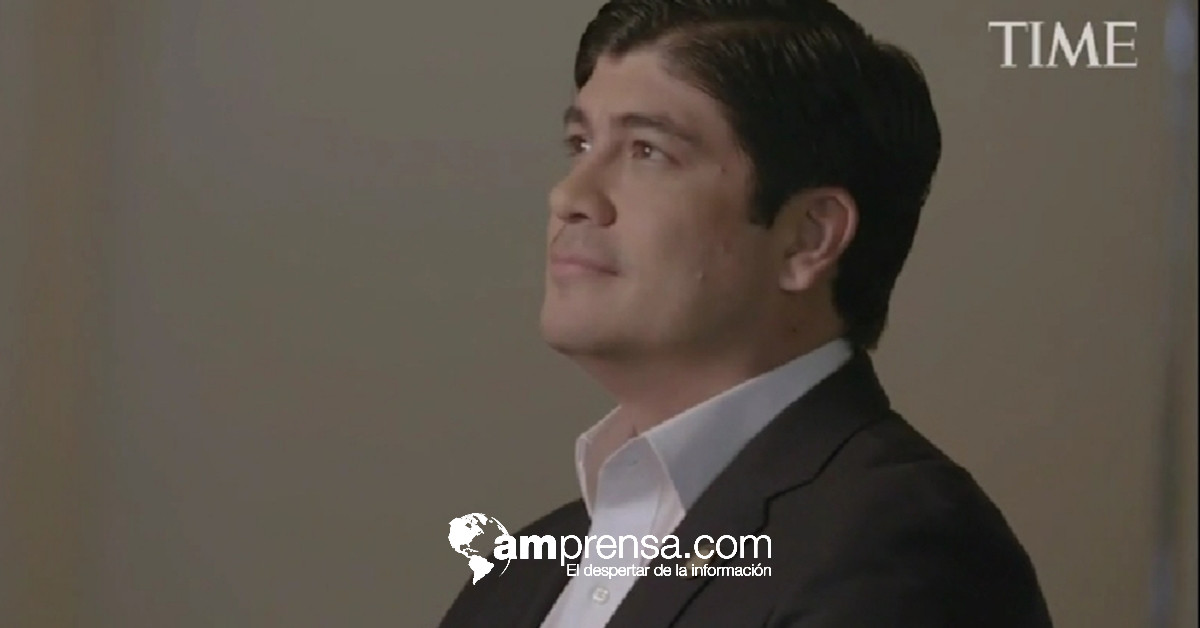 Time considera a Carlos Alvarado personaje influyente