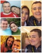 Jeffrey vargas y su esposa