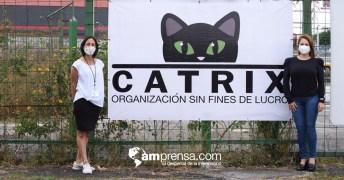 Julia Rojas, fundadora de Catrix y la odontóloga Vivian Calvo. Cortesía para AM Prensa