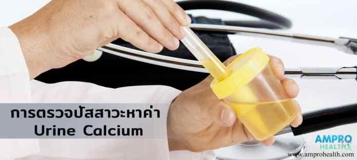 การตรวจปัสสาวะหาค่า Urine Calcium