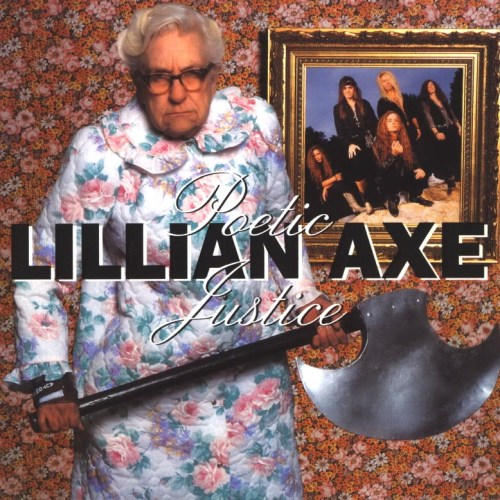 LILLIAN AXE POETIC JUSTICE COVER