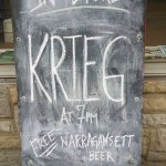 Krieg: Showing A.K.A. Music In Philly Some Free Love! – 3/14/14